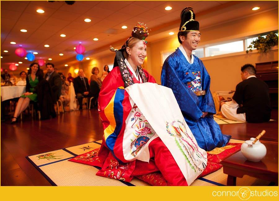 Modern korean wedding