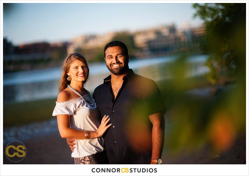 Vassiliki Raj Engagement Photography Theodore Roosevelt Island